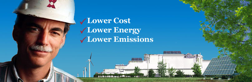 Lower Energy Lower Emissions Lower Cost